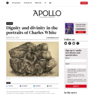 Apollo Magazine, November 5, 2018