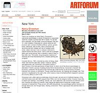 Artforum Critic's Pick, June 2014