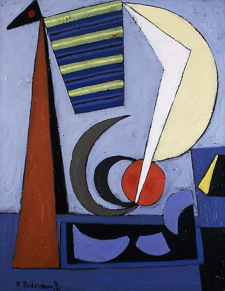 "Untitled, 1935 oil on canvas 32 1/4"" x 25 1/8..."