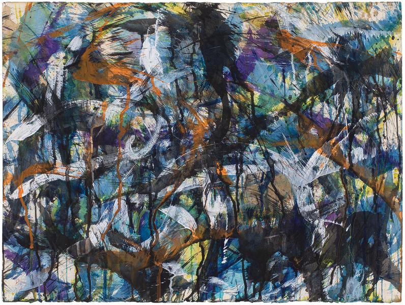 Norman Bluhm (1921–1999) Untitled, 1958 goua...