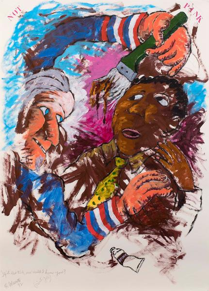 Robert Colescott (1925–2009) If It Was Pink,...
