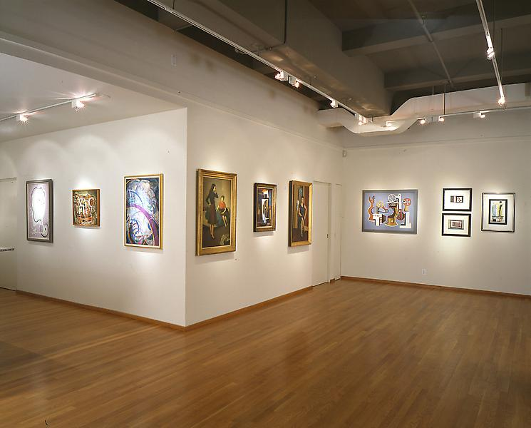 Installation Views - Counterpoints: American Art, 1930-1945 - April 7 – June 4, 1994 - Exhibitions