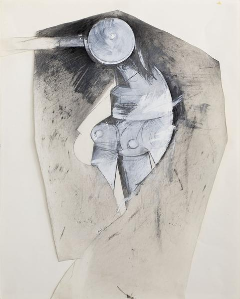Jay DeFeo (1929–1989) Untitled (Dressed Trip...