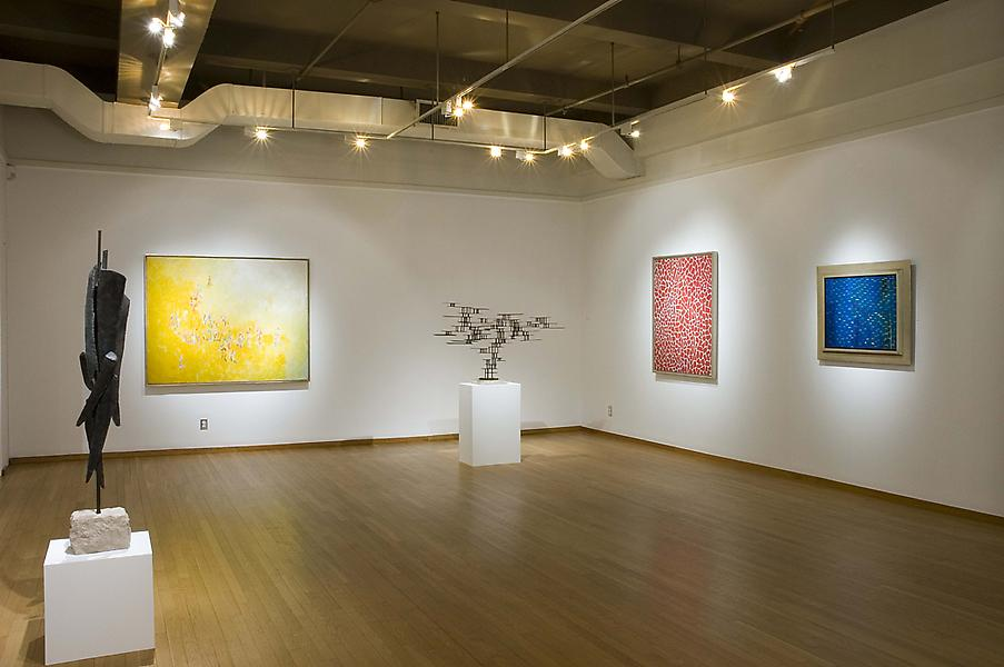 Installation Views - Decoding Myth: African American Abstraction, 1945-1975 - January 6 – March 10, 2007 - Exhibitions