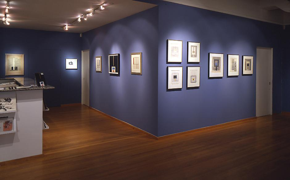 Installation Views - Burgoyne Diller: Collages - November 4, 1999 – January 8, 2000 - Exhibitions