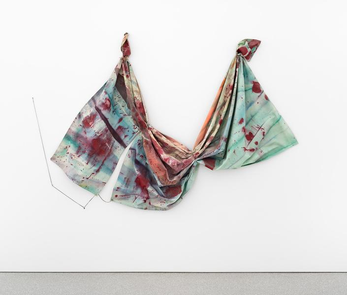 Sam Gilliam (b.1933) Cut, 1969 acrylic on raw canv...