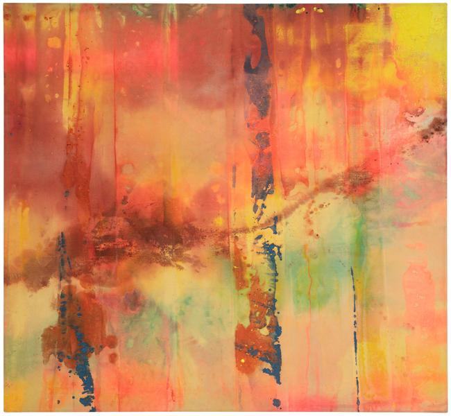 Sam Gilliam (b.1933) Untitled, 1970 acrylic and dy...