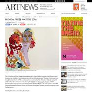 ArtNews Frieze Masters Preview, October 5, 2016