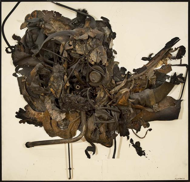 Nancy Grossman (b.1940) Mummy, 1965 metal, leather...