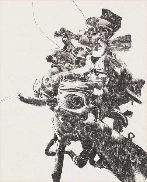 Nancy Grossman (b.1940) Untitled, 1966 black ink o...