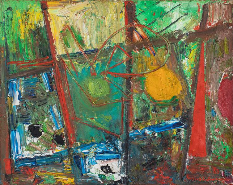 Hans Hofmann (1880–1966) Composition #15/53...