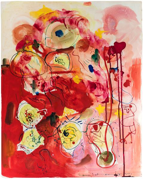 Hans Hofmann (1880–1966) Phantasie in Red, 1...