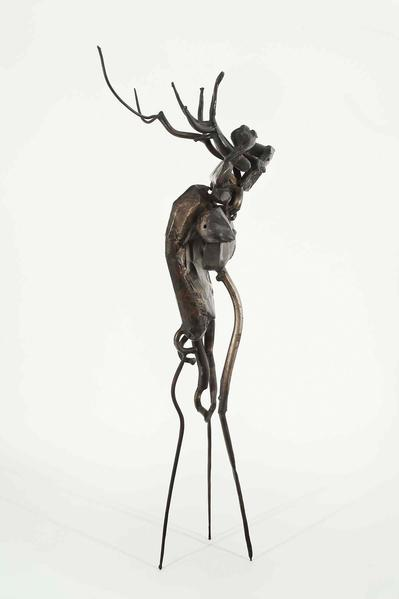 Richard Hunt (b.1935) Untitled, 1955 welded metal...