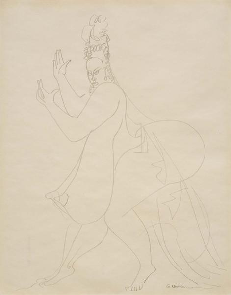 Gaston Lachaise (1882–1935) Untitled (Dancin...