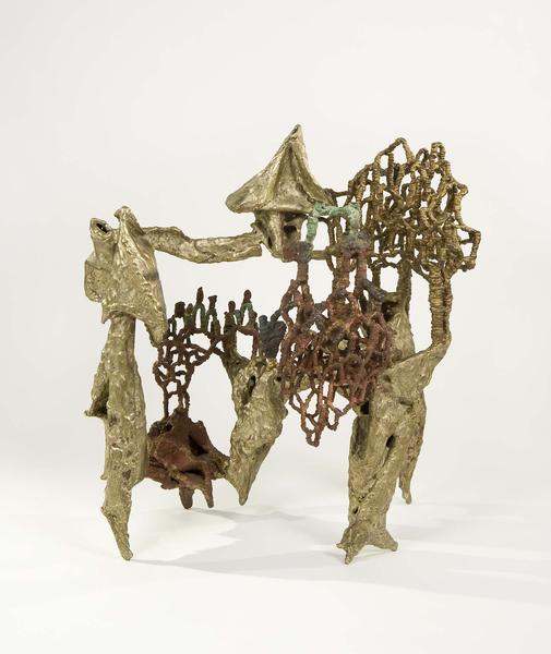 Ibram Lassaw (1913-2003) Act Three, 1963 copper sh...