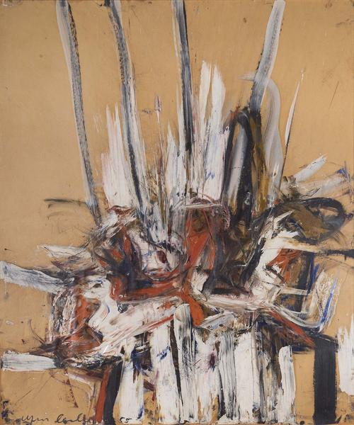 Untitled, 1955 oil on paper mounted on board 48&qu...