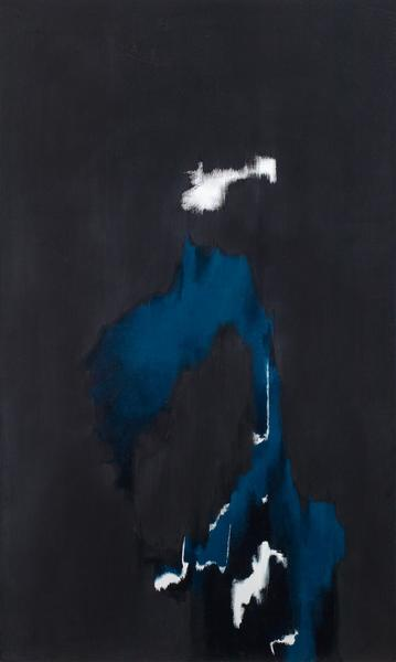 "No. 6, 1973 oil on canvas 80 "" x 47 5/8""..."