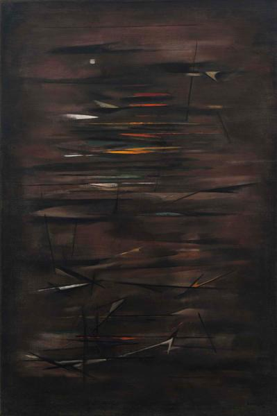 "Twilight, 1956 oil on canvas 59 3/4"" x 40&quo..."
