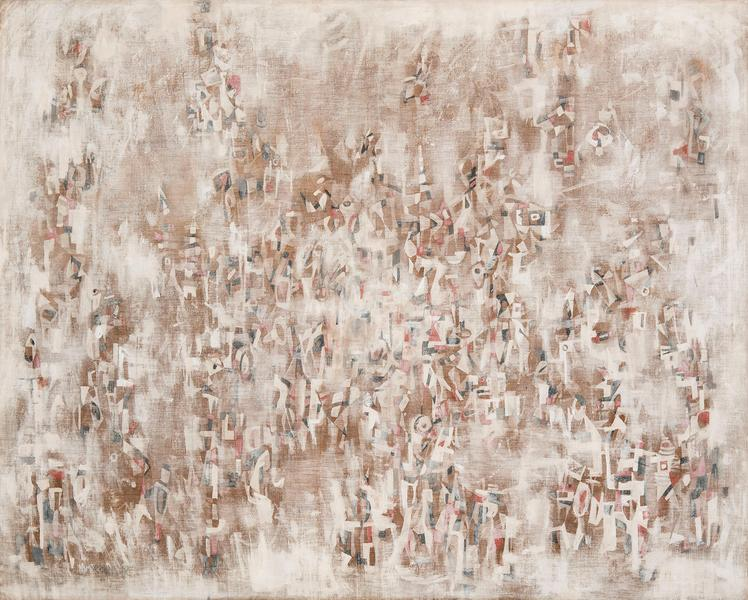 "Untitled, c.1958 oil on linen 51 1/4"" x 63 3/..."
