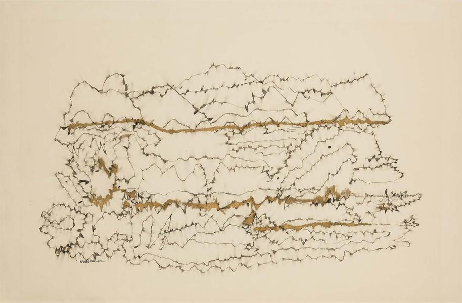 Norman Lewis (1909-1979) Untitled, 1953 ink and go...