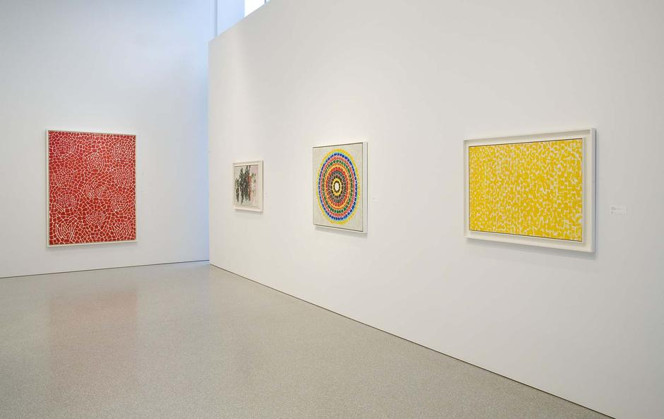 Installation Views - Alma Thomas: Moving Heaven & Earth Paintings and Works on Paper, 1958-1978 - March 20 – May 16, 2015 - Exhibitions