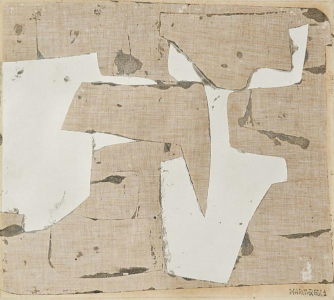 Untitled, c.1958-59 oil on canvas, linen and canva...