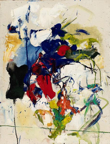 Joan Mitchell (1925–1992) Untitled, 1956-58...