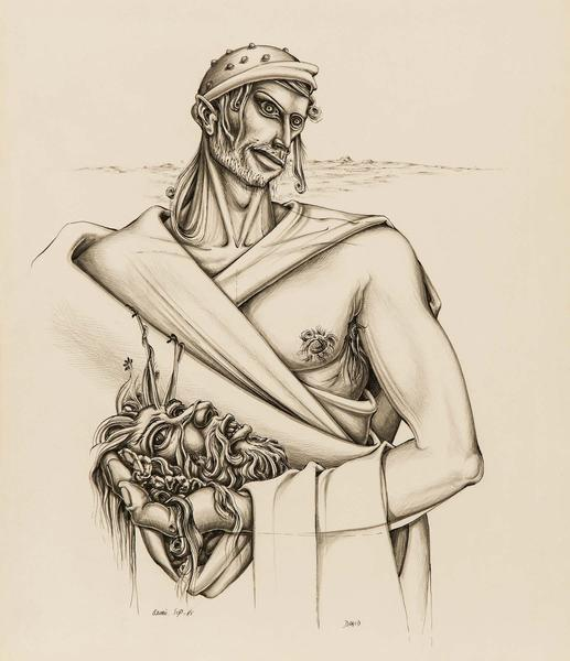 Alfonso Ossorio (1916–1990) David, 1945 pen...
