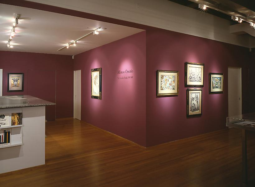 Installation Views - Reflection and Redemption: The Surrealist Art of Alfonso Ossorio, 1939-1949 - November 14, 1996 – January 18, 1997 - Exhibitions
