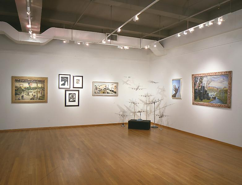 Installation Views - Planes, Trains and Automobiles: Machine Age America - November 17, 1994 – January 22, 1995 - Exhibitions