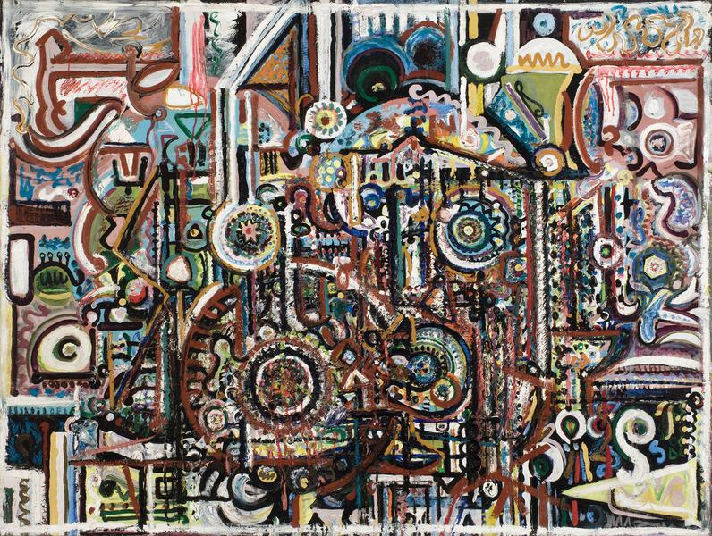 Richard Pousette-Dart (1916–1992) Untitled,...