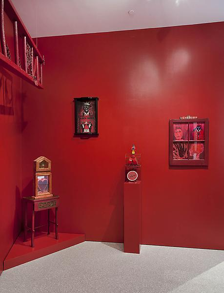Installation Views - REDTIME EST: AN INSTALLATION BY BETYE SAAR - March 15 – May 3, 2014 - Exhibitions