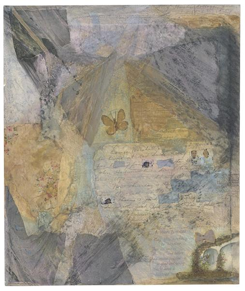 Betye Saar (b.1926) Letters from Home #5 Birthday...
