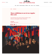 The Art Newspaper, April 11, 2019