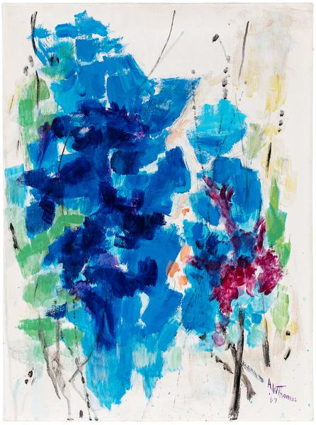 Forecast of Spring, 1967 acrylic on canvas 24 1/4...