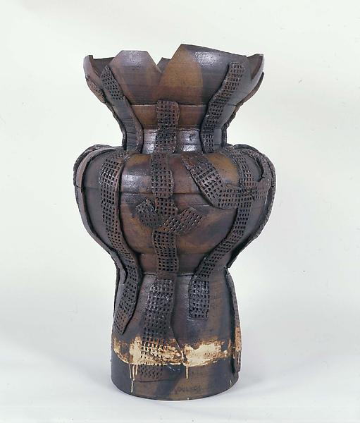 "Untitled, 1955-56 glazed ceramic 31 1/2"" x 19..."