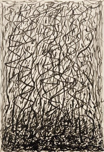 "Untitled, c.1925 black ink on paper 10 1/2"" x..."