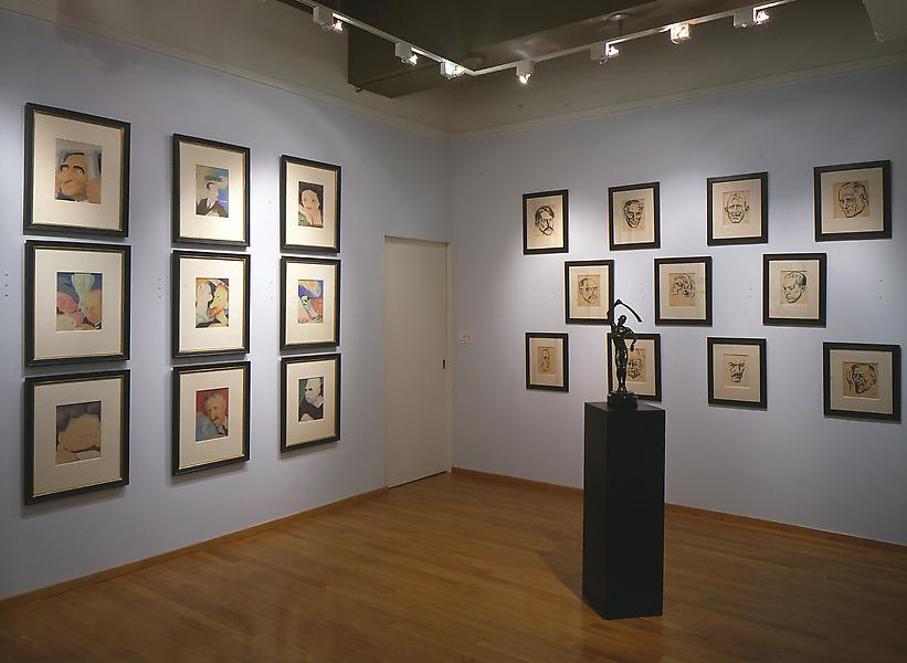 Installation Views - We The People! American Voices of the WPA Era - April 11 – June 8, 1996 - Exhibitions